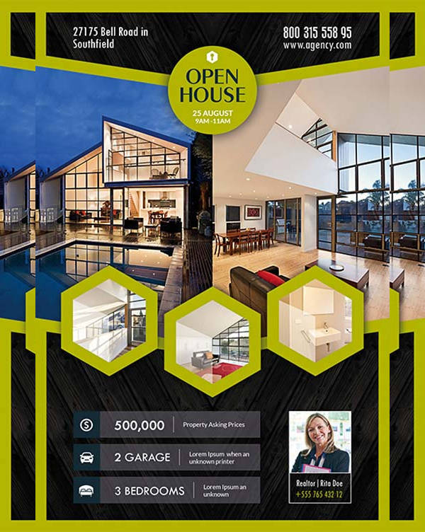 Open House Realestate Flyer