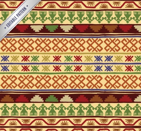 Ornamental Aztec pattern