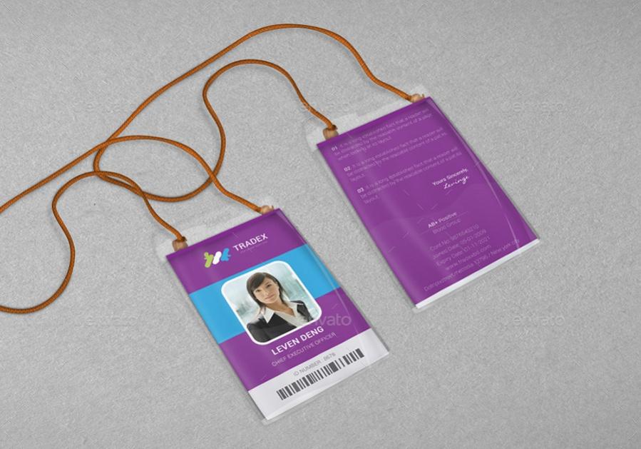 PSD Branding Id Card