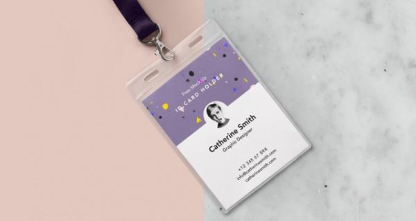PSD Customized id Card