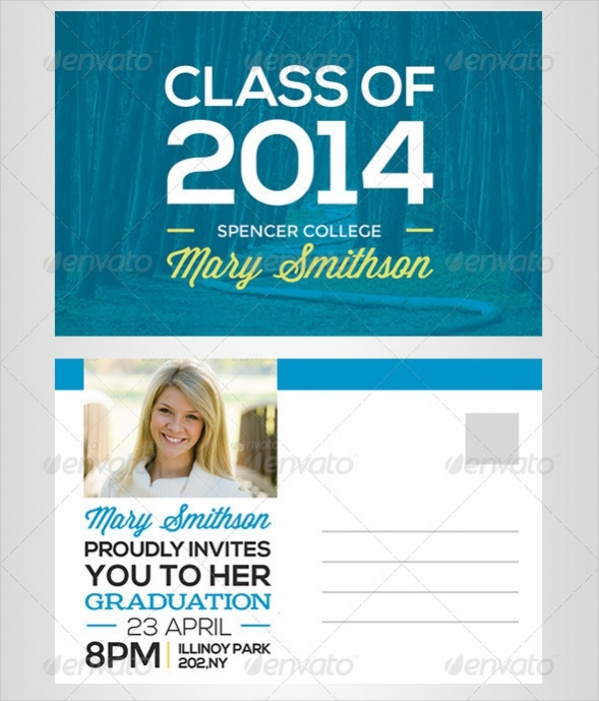 PSD Graduation Postcard