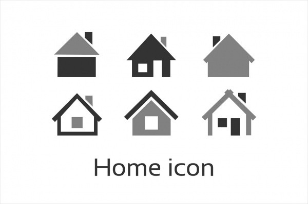PSD Home Icons