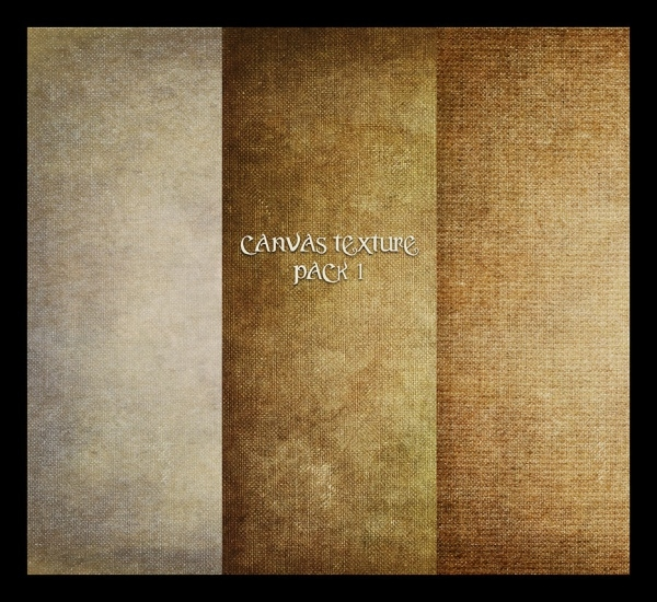 Pack of Canvas Texture