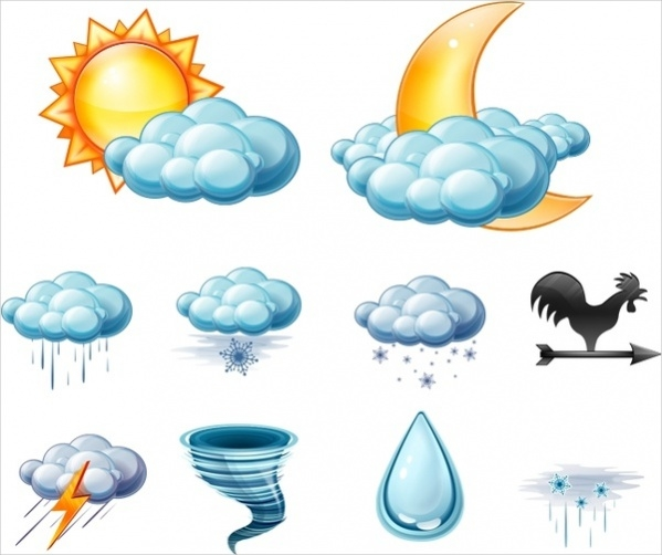 Pack of Weather Icons