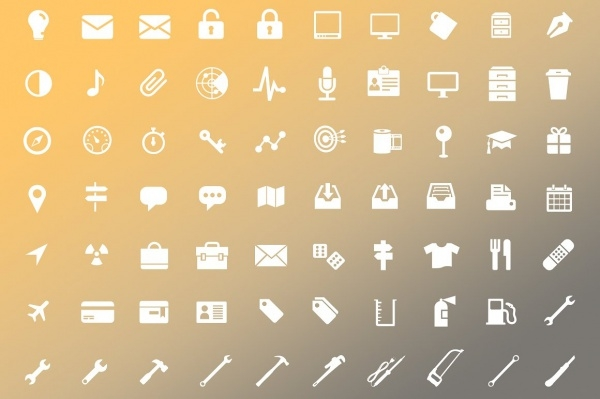 Pack of Website Icon Designs