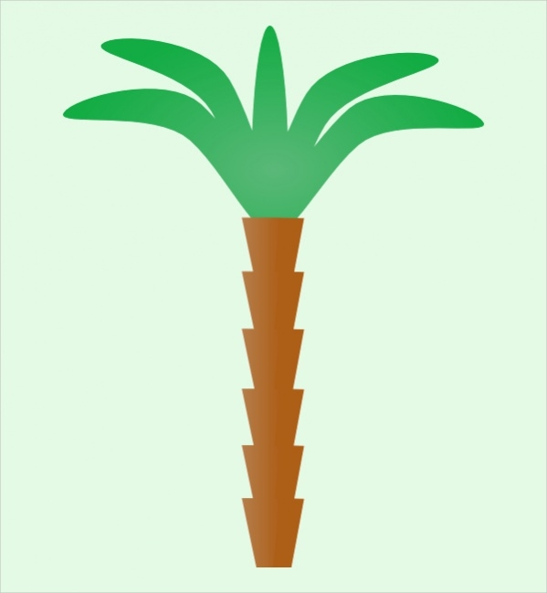 palm tree clip art for free
