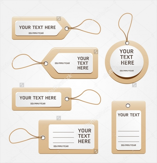 Paper Price Tag Designs