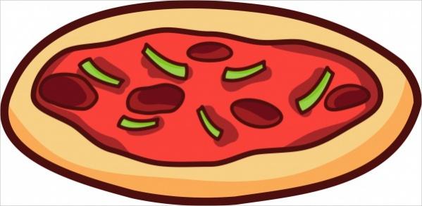 Pepperoni Pizza Clipart