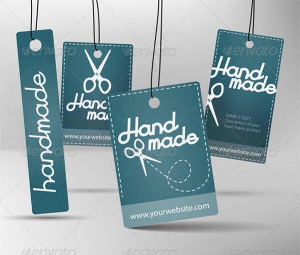 Personalized Hand Made Product Label