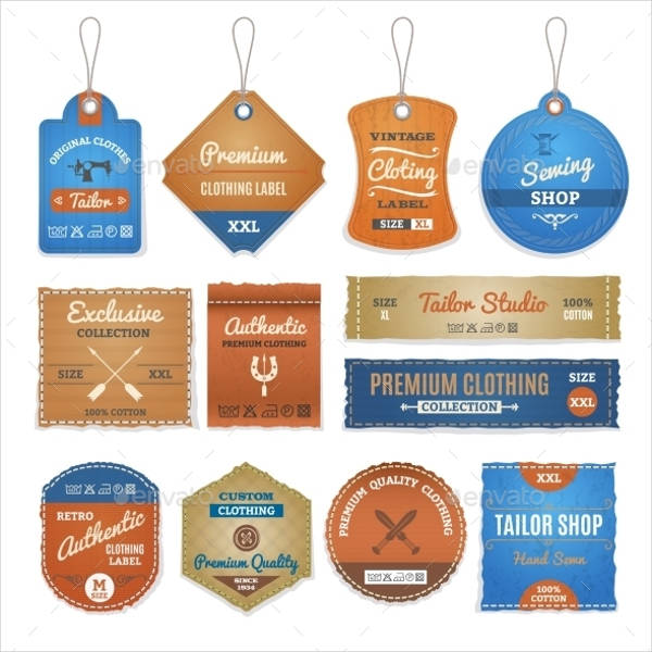 Personalized Labels for Clothing