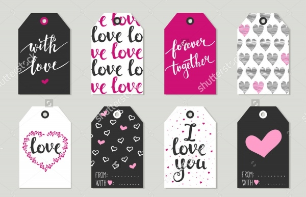 personalized wedding tags for gift