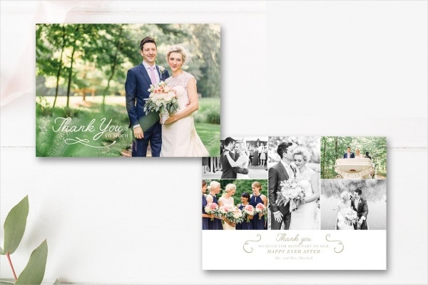 Photography Thank You Card