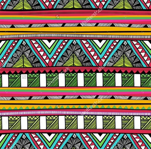 Photoshop Abstract Tribal Pattern