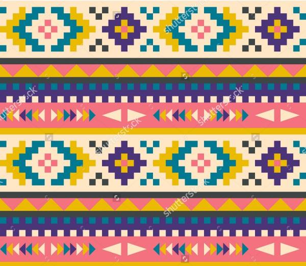 Photoshop Aztec Pattern Design