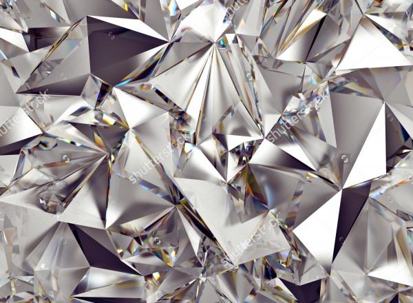 Photoshop Crystal 3D Texture