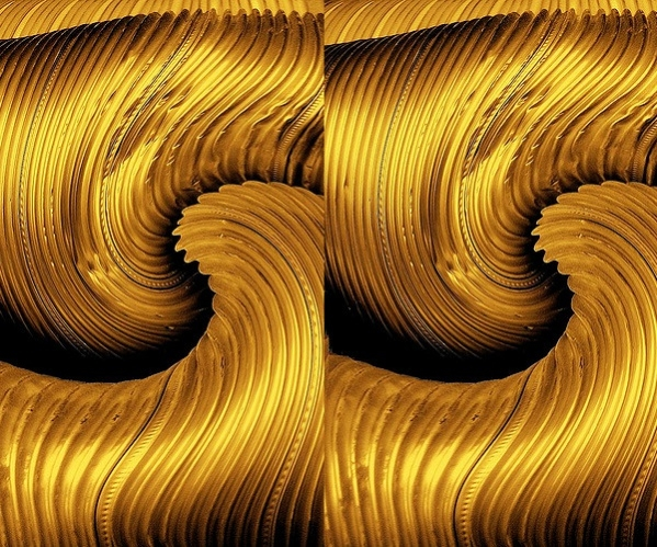 Photoshop Golden Curves Texture
