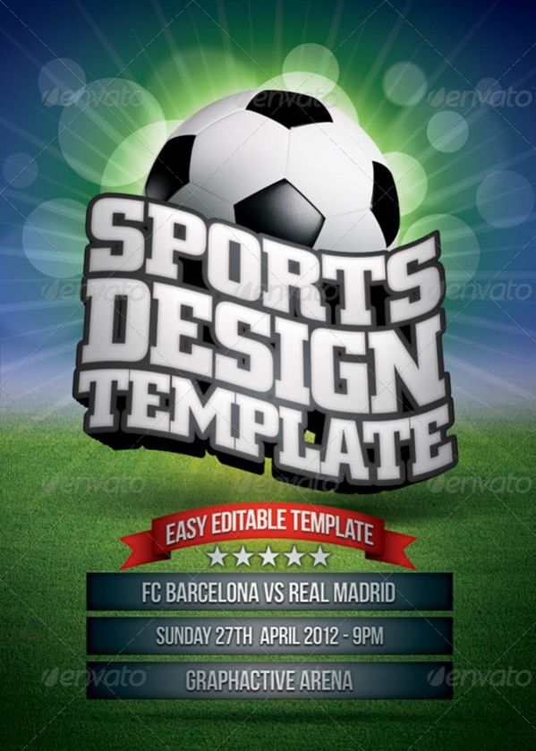 Photoshop Sports Poster Design
