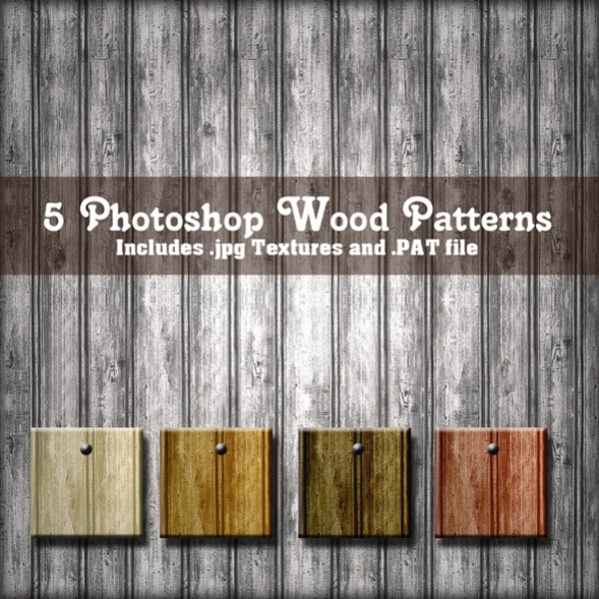 Photoshop Wood Pattern