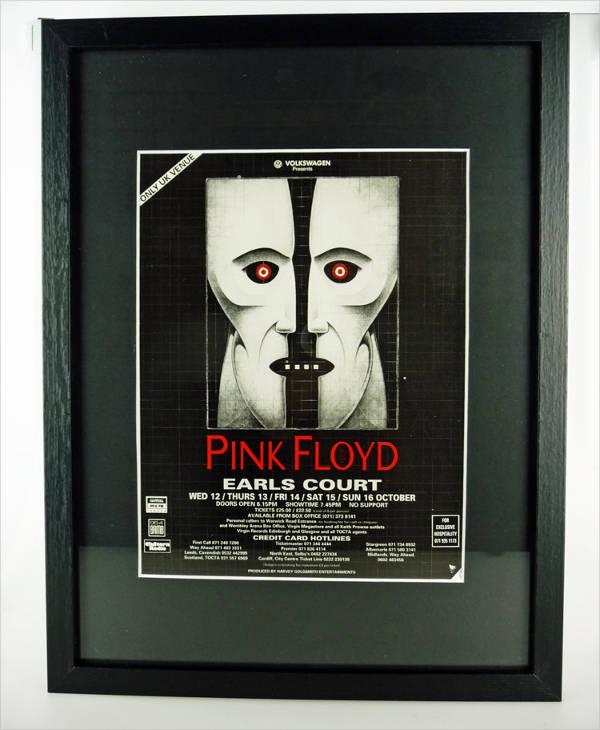Pink Floyd Concert Poster