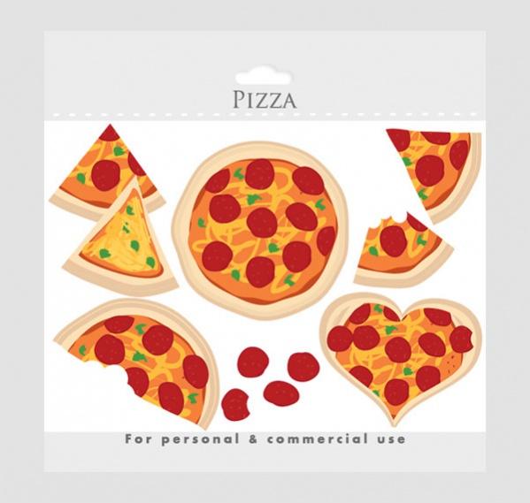 Pizza Love Clipart