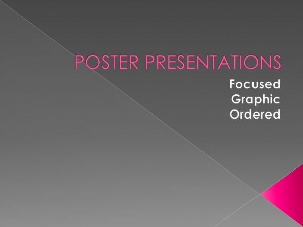Poster Presentation For Free