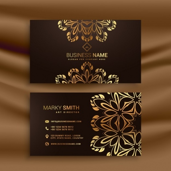 Premium luxury business card design