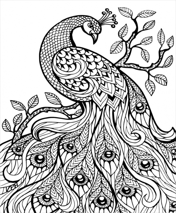 Print Abstract Coloring Page