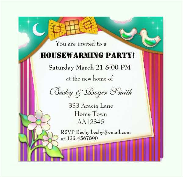 Print Housewarming Invitation