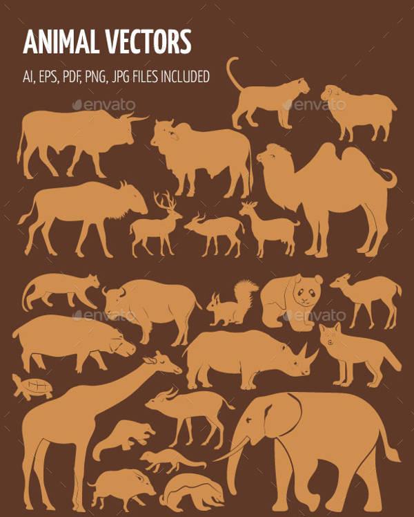 Printable Animal Silhouettes
