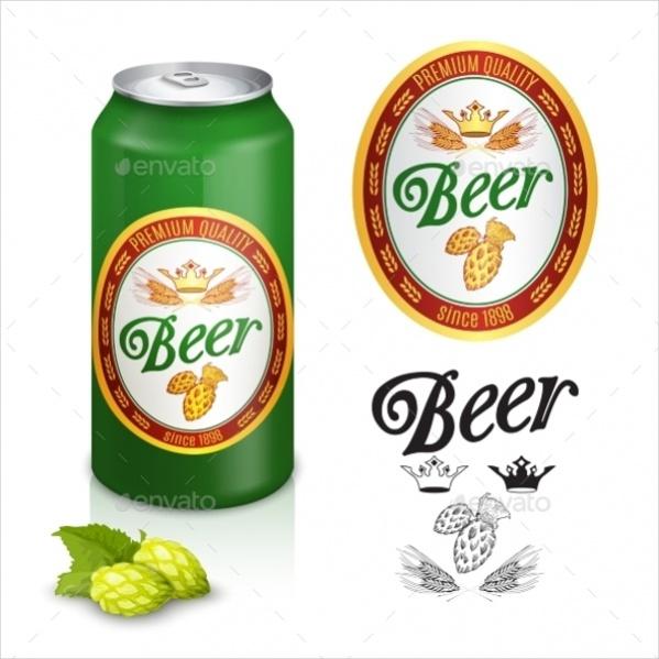 Printable Beer Label
