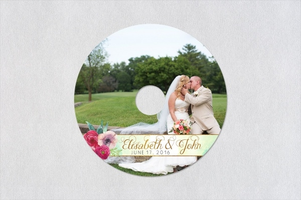 Printable CD Label Design
