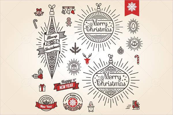 Printable Christmas Label
