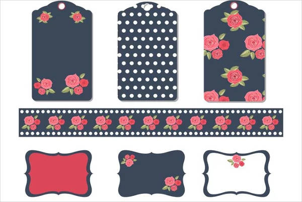 Printable Flower Labels