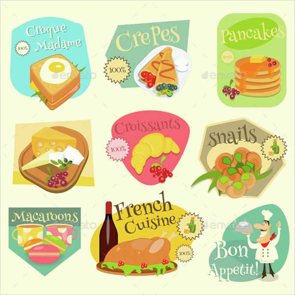 Printable Food Label