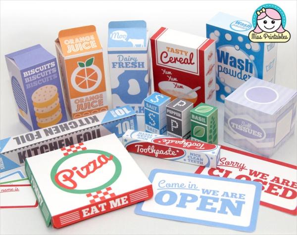 Printable Food Packaging for Kids