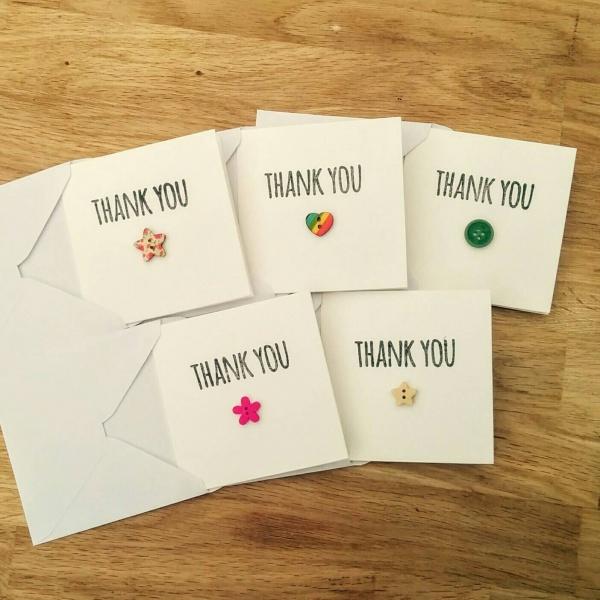 Printable Handmade Thank You Cards