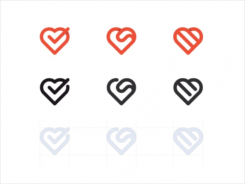 Printable Heart Icons
