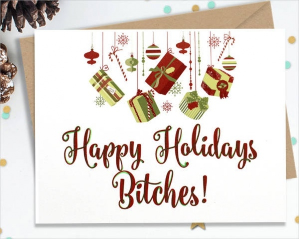 Printable Holiday Card