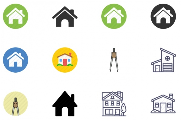 Printable Home Icon