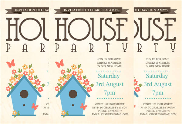 36 Unique Housewarming Invitation Designs Psd Vector Eps Ai