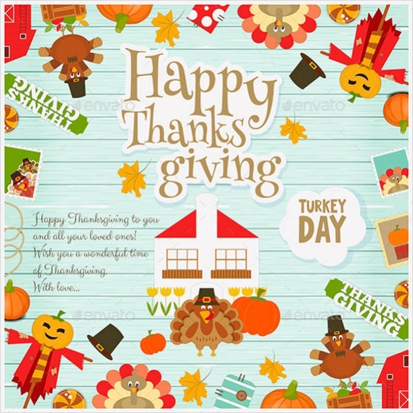 Printable Thanksgiving Card
