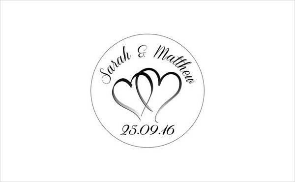 Printable Wedding Labels