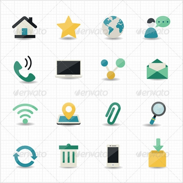 Printable website Icons