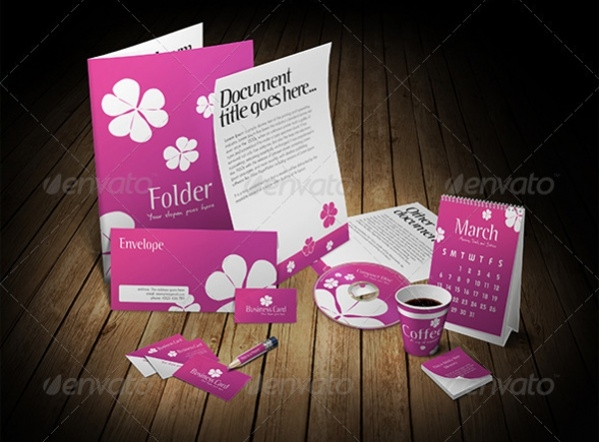 Professional 3D Stationery Designs