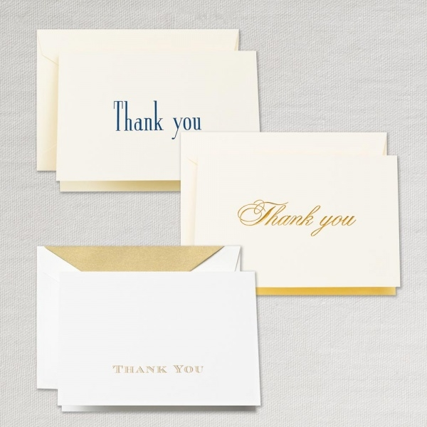 Professional Classic Thank You Card