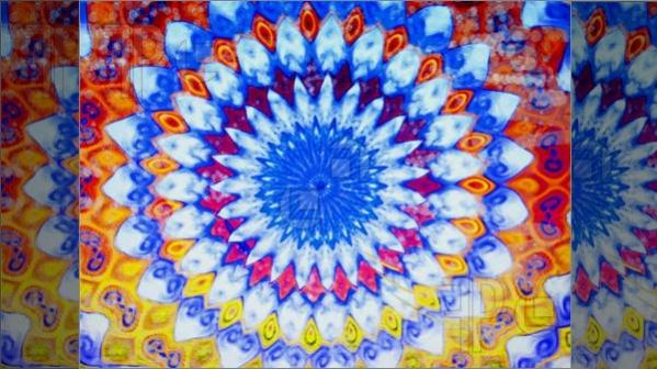 Psychedelic Tie Dye Swirl pattern