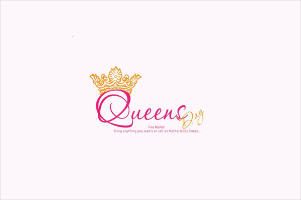 Queen Pink Crown Logo