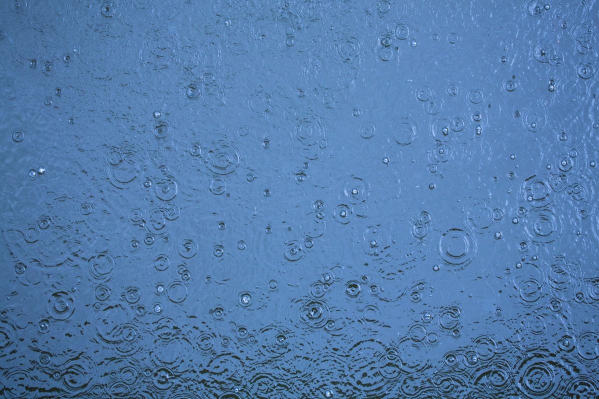 Rain Water Drops texture