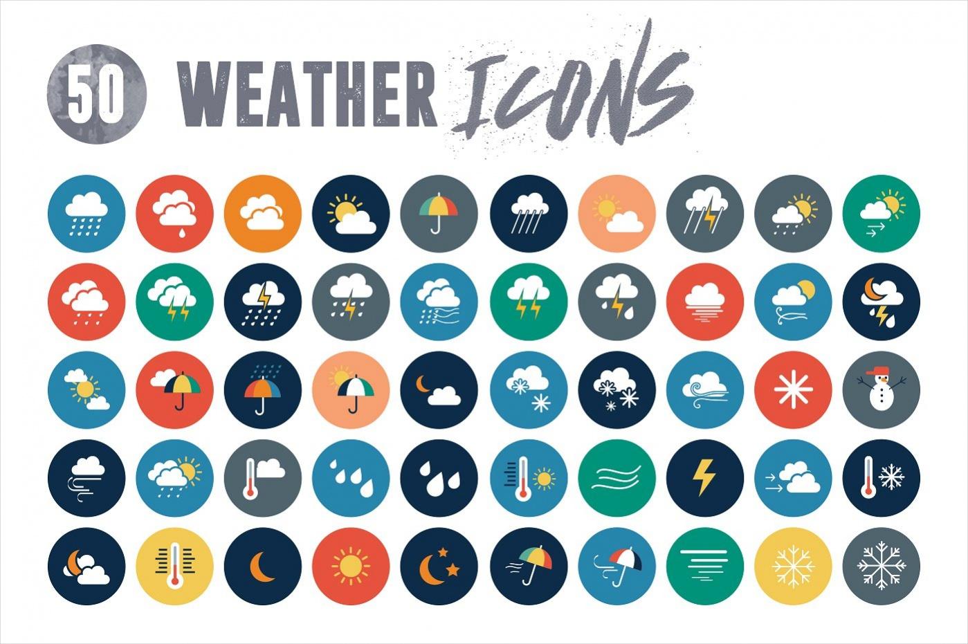 Rainy weather icon Design
