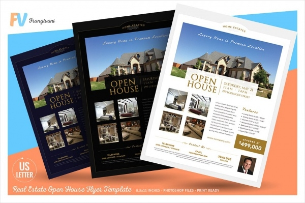 20  open house flyer designs